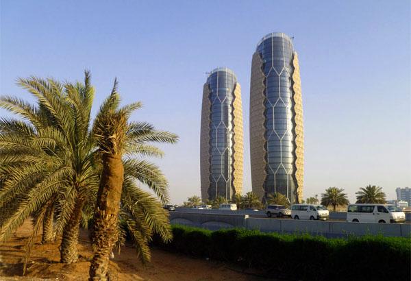 Небоскребы Al Bahar