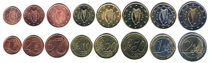 монета 50 евро